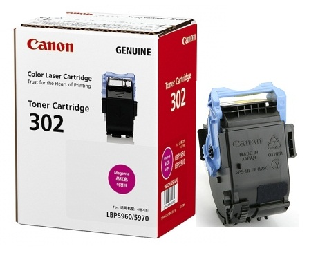 Mực in Canon 302 Magenta Toner Cartridge