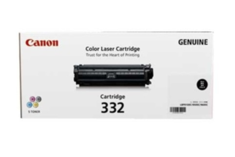 Mực in màu Canon 332 Black Laser Cartridge