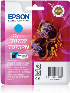 Mực in Epson  T0732 Cyan Ink Cartridge