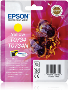 Mực in Epson  T0734 Yellow Ink Cartridge