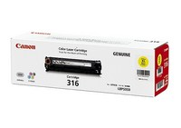 Mực in Canon 316 Yellow Toner Cartridge