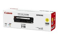 Mực in Canon 318 Yellow Toner Cartridge