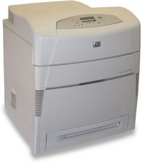 Cho thuê máy in HP Color LaserJet 5500n Printer