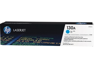 Mực in HP 130A Cyan Original Laserjet Toner Cartridge (CF351A)