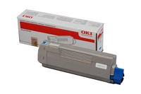 Đổ mực in Oki C610C Cyan Toner Cartridge (44315311)